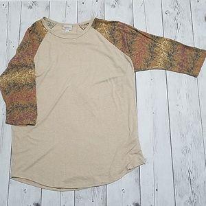 LuLaRoe Printed Sleeve XL Randy